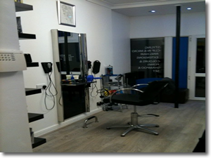 Blues barbers shop